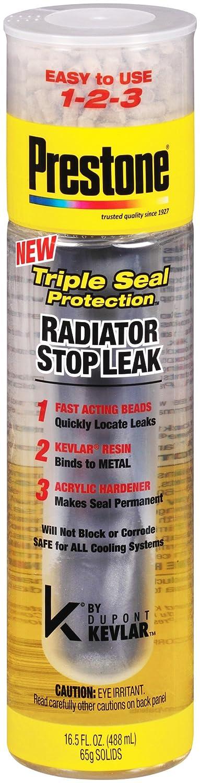4. Prestone radiator stop leak