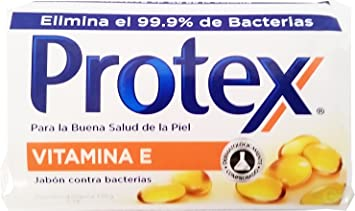 Protex Vitamine E Soap 3.75 oz - Jabon con Vitamina E (Pack of 6)