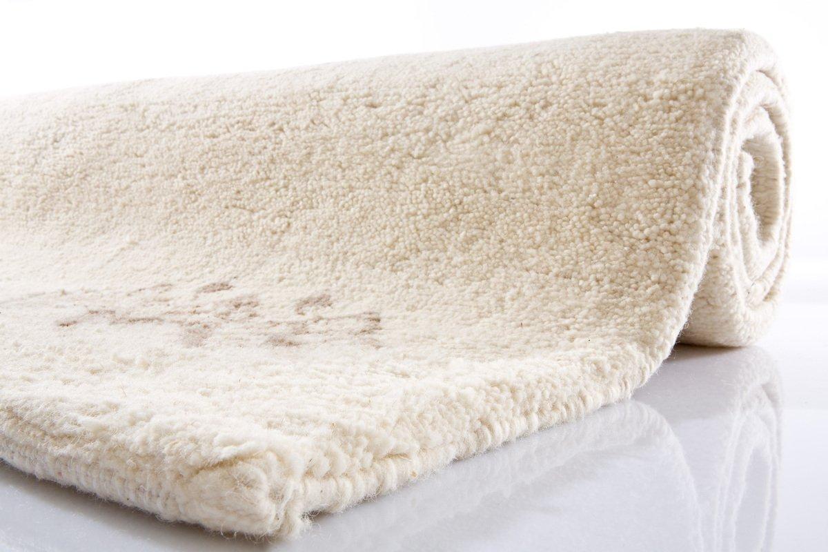 Tuaroc Kenitra Berberteppich 15 15 double 609 609 609 997 wollweiss 70 x 140 cm beige 50b771