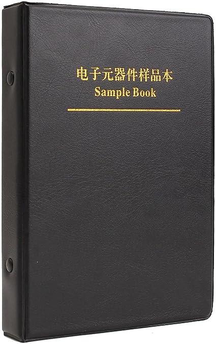 WiMas 0805 Kit di campionamento resistore e condensatore SMD 3725Pcs versione completa