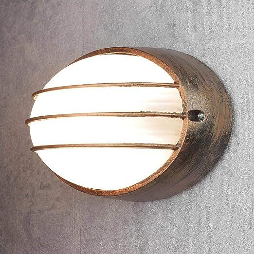 Grande nave Lampada e27 con muro esterno lampada muro casa lampada esterno luci