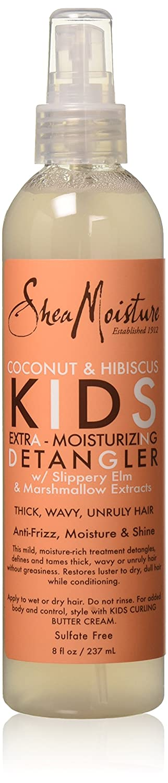 Shea Moisture Kids Extra-Moisturizer Detangler, Coconut & Hibiscus, 8 Ounce Atlas Ethnic 764302905028