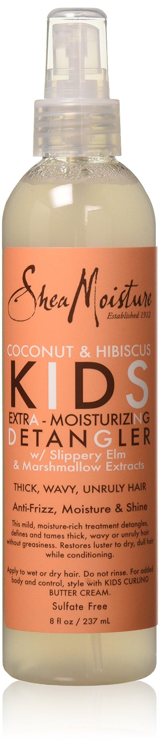 Shea Moisture Kids Extra-Moisturizer Detangler, Coconut & Hibiscus, 8 Ounce