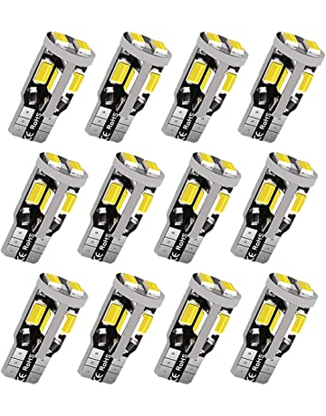 12Pcs 194 LED Bulb, Super Bright 5630 Chipset 168 LED Bulb, 194 168 T10