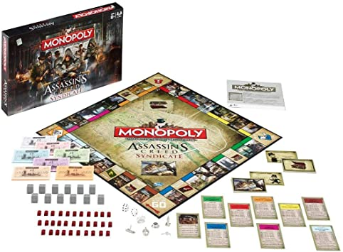 Assassins Creed Syndicate Monopoly: Amazon.es: Juguetes y juegos