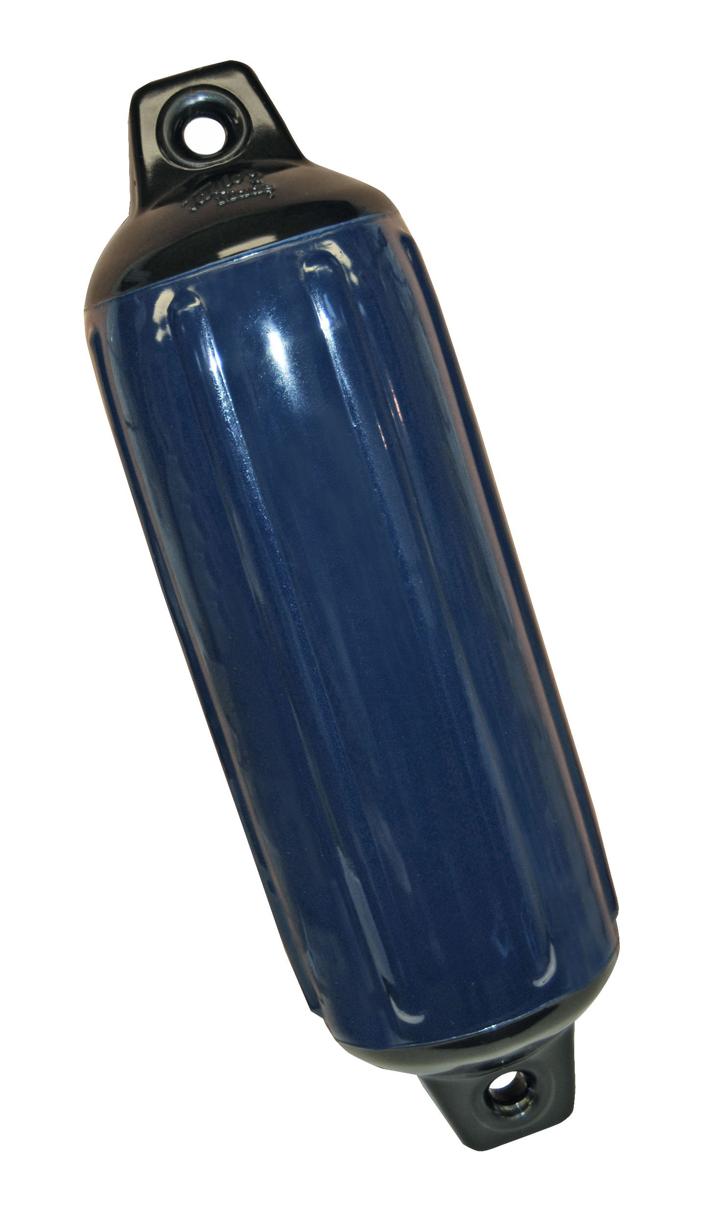 Taylor Made Products 957622  Super Gard Inflatable Vinyl Boat Fender, 6.5 x 22 inch, Navy Blue
