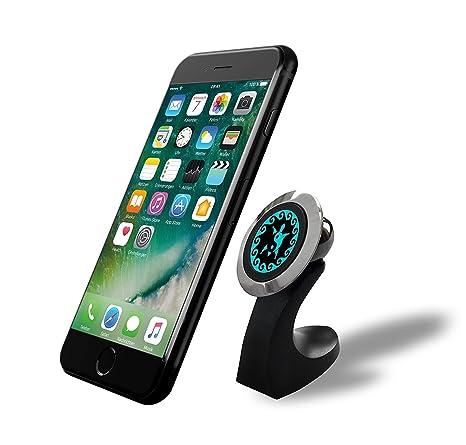 widras steel magnetic desktop stand mount for phone or