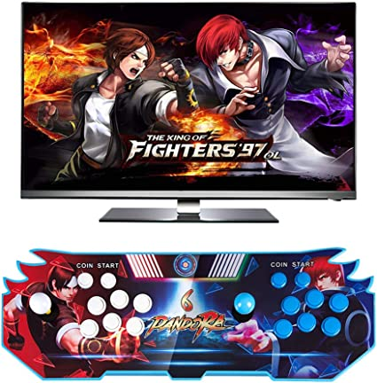 iRULU Pandora Box 6 Game Console, 3003 in 1 Classic Retro Arcade Games  Pandora's Box Video Game Console with 2 Players Joystick and Buttons,  Support ...