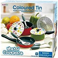 Playgo metal Utensilios de cocina color estao