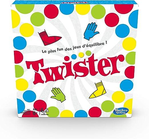 Twister - Juego de Equilibrio Divertido, versión Francesa: Amazon.es: Juguetes y juegos