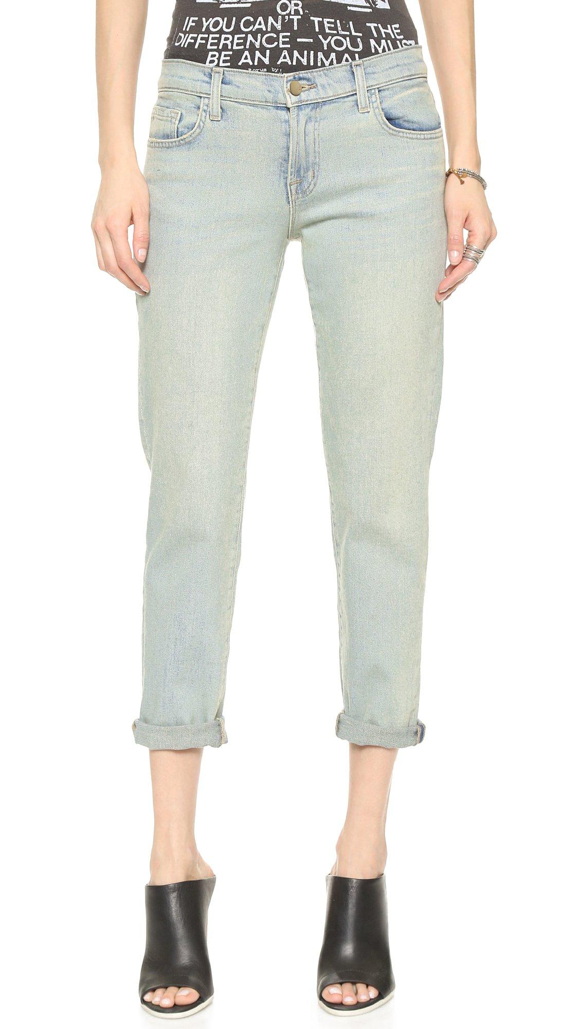 J Brand Women's Cropped Ellis Jeans, Love Cat, 27