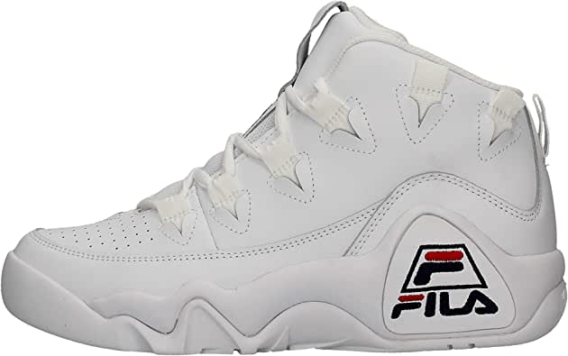 Zapatillas Altas para Hombre FILA 95 en Cuero Blanco 1010579-1FG: Amazon.es: Zapatos y complementos