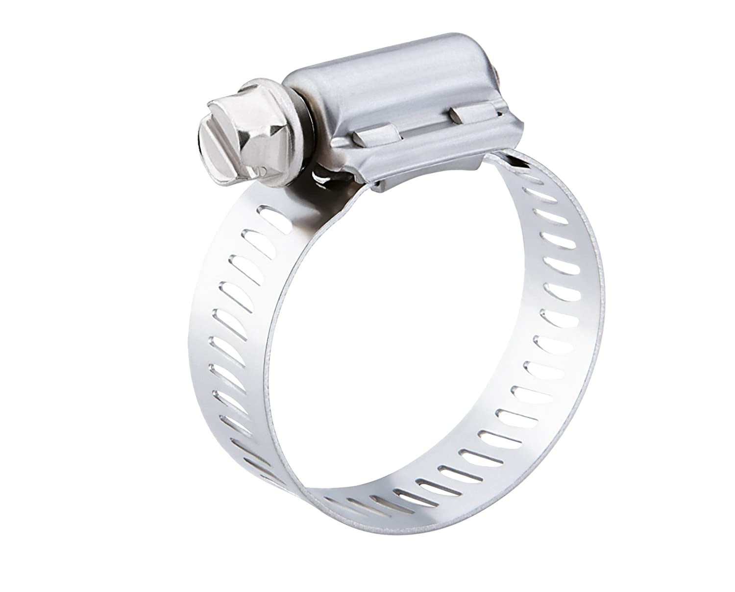 Breeze Power-Seal Stainless Steel Hose Clamp, Worm-Drive, SAE Size ... for Hose Ring Clamp  181pct