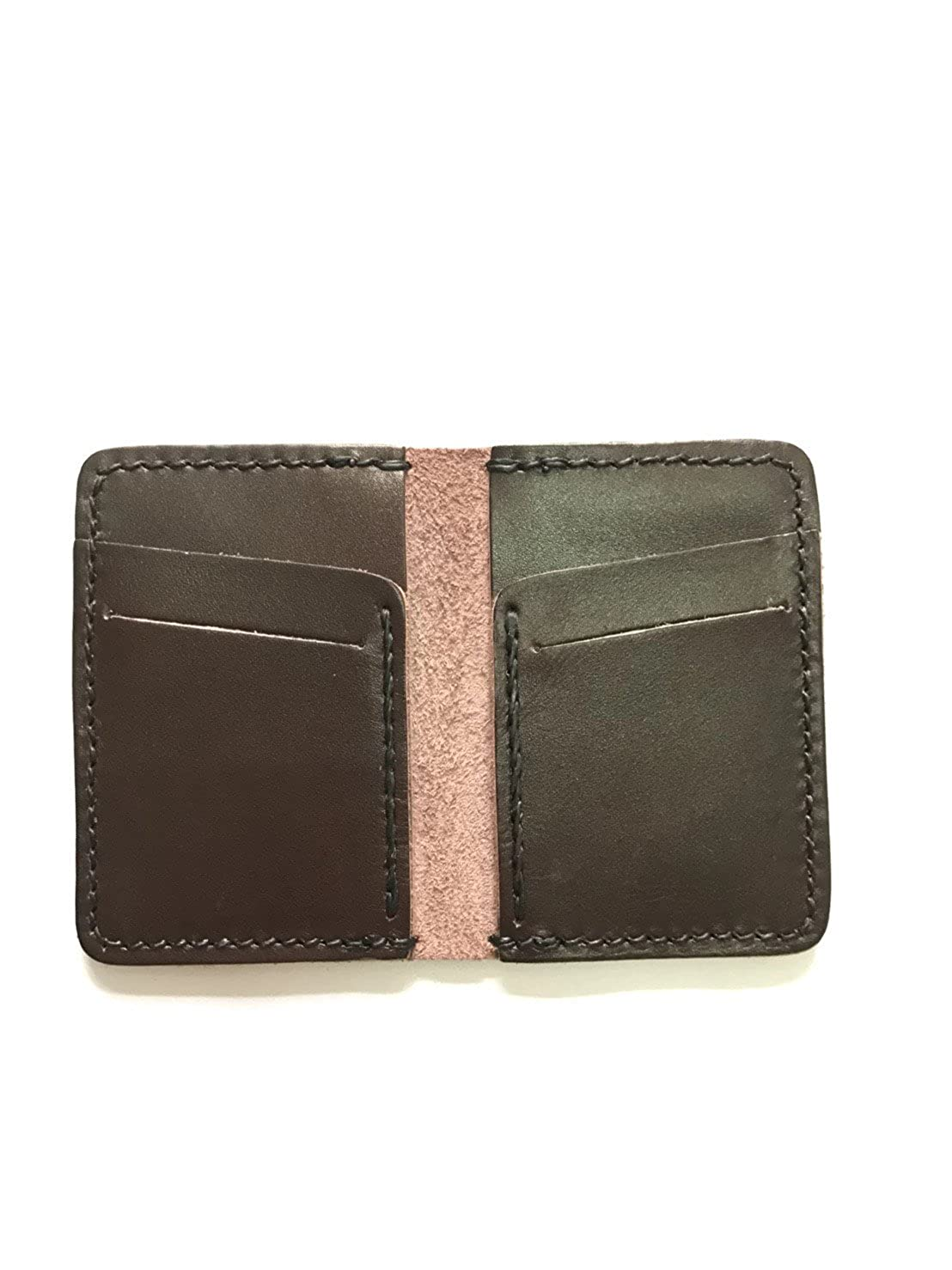 Wallet Leather Handmade, Front Pocket Slim Design, Minimalist Credit Card  Wallet, (dark