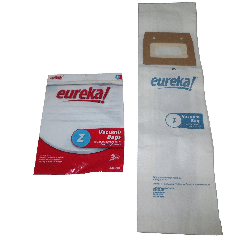 Eureka Style Z Genuine Vacuum Cleaner Bags: 6 Bags