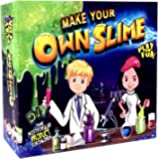 DIY Slime Making Kit | Art and Crafts Set For Big Boys, Girls and Kids | Original Make Your Own Slime | 30 Pack | Glow In The Dark | Unique Big Starter Pack with Rainbow Glitters, Shakers, Different Colour Inks With Free Extras | Glossy Soft Slime Making Kit for Crazy Cool Magic Fun | Perfect for Boys, Girls And Children | The Best Non Toxic Fluffy Stretchy Toy Clay Slime Putty With All Activator Ingredients | European Certified