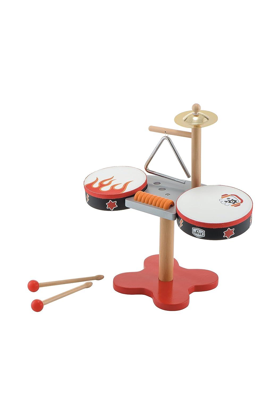 Trudi 82982 Klein Rock Schlagzeug, 38 x 36 x 16 cm Trudi Spa