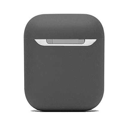100% authentic fe302 93355 Protective Airpods Case [Front LED Visible][Supports Wireless  Charging][Made of 2 Pcs] Shock Proof Soft Skin for Airpods Charging Case  1&2 (Grey)