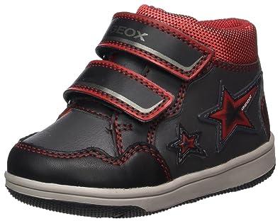 Geox B New Flick E Sneakers Basses bébé garçon  Amazon.fr ... cc3192fab85