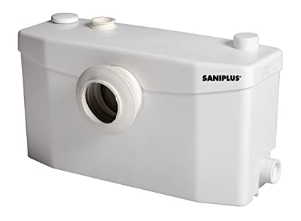 Saniplus silence trituratore wc con pompa bagno completo