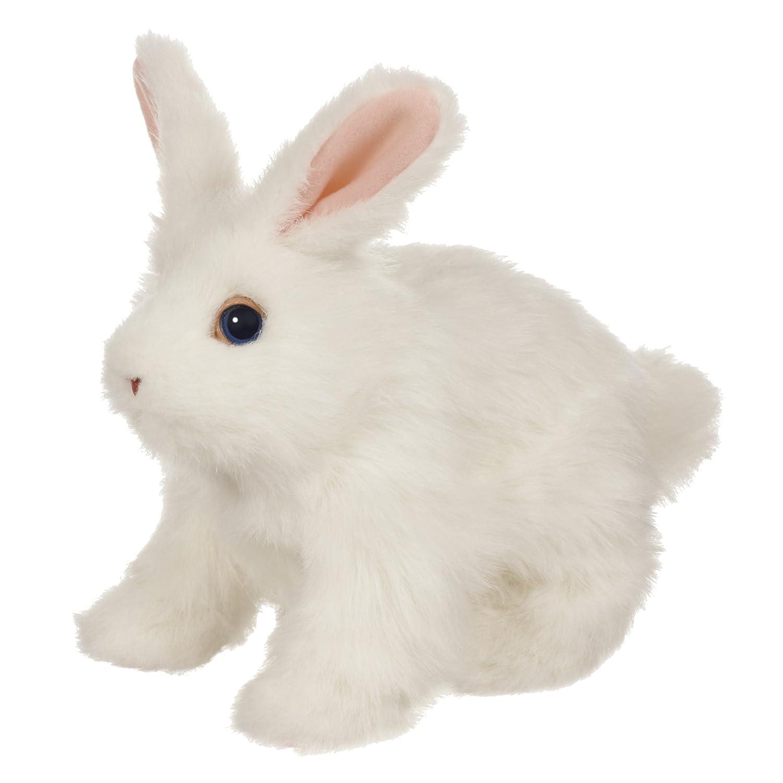 Barato Hasbro FurReal Amigos Hop 'n Cuddle conejo blanco