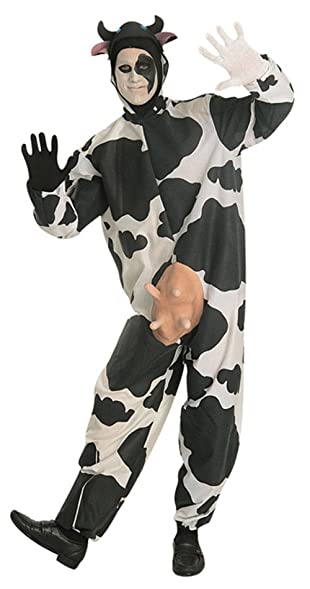 15225 Comical Cow Costume Adult Cow Suit  sc 1 st  Amazon.com & Amazon.com: 15225 Comical Cow Costume Adult Cow Suit: Clothing