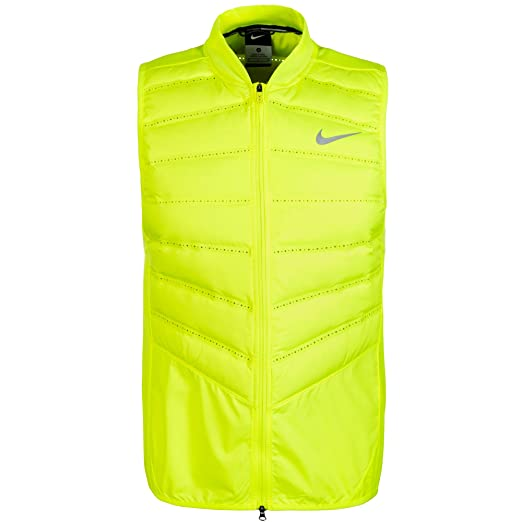 f7ce54edffe8 Amazon.com   Nike Mens Aeroloft 800 Running Vest Down Fill (Large ...