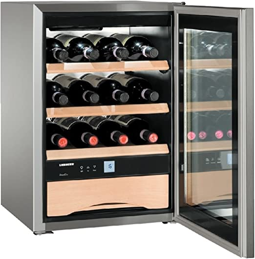 Vinoteca Liebherr WKES 653 inox clase A+: 1292.28: Amazon.es: Hogar