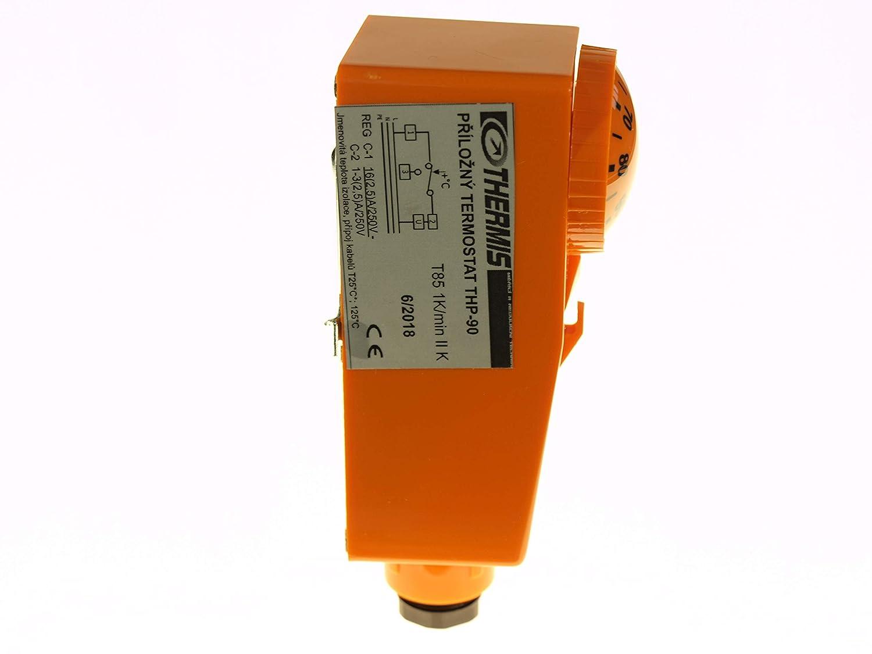 THERMIS Anlege Thermostat THP 90 Einstellbereich von 20/° bis 90/°C