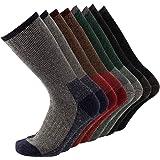KAVANYISO Men's 70% Merino Wool Hiking Socks Breathable Athletic Crew Thicken