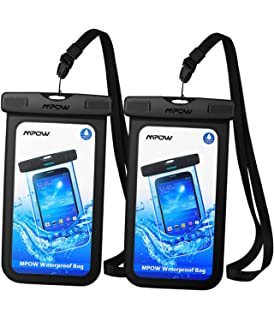 Mpow Funda Impermeable móvil, IPX8 Bolsa estanca móvil, ABS ...