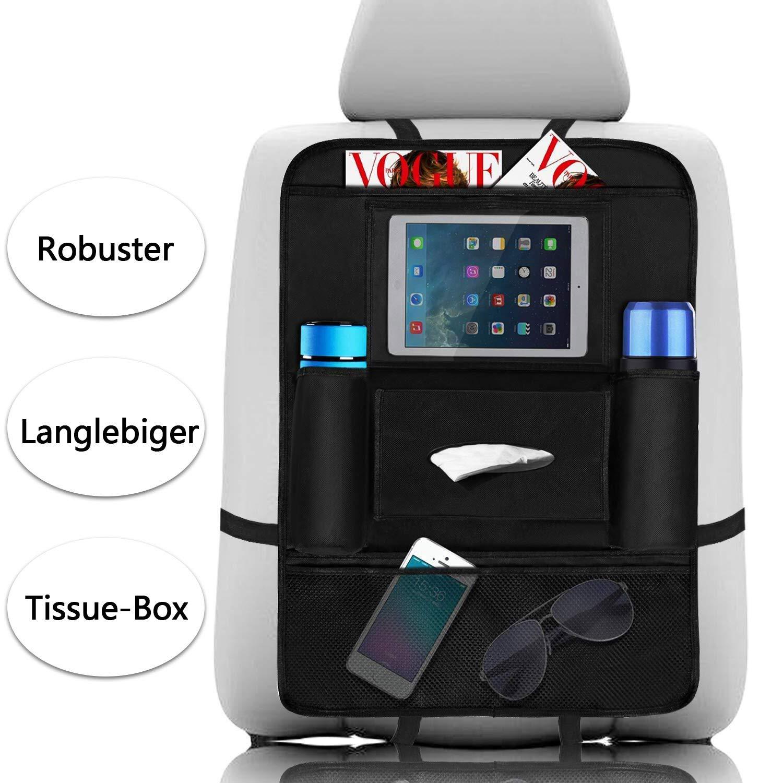 Cosy Life organizer per sedile auto, 2PCS Oxford impermeabile per sedile auto, impermeabile/antipolvere auto Travel Storage Bag per iPad Tablet touch screen Holder, multitasche per bottiglie, scatole di tessuto, Kids Toy Storage