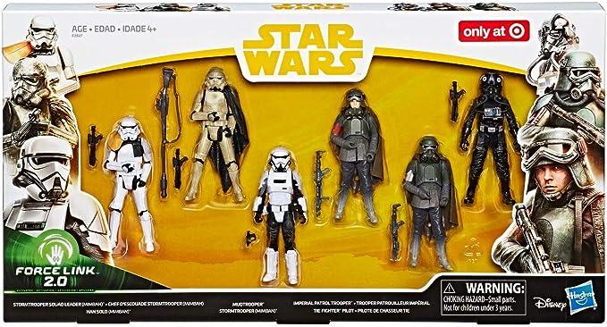 Star Wars Force Link 2.0 Solo Mimban Trooper Patrol Squad Leader 6 Figure Pack
