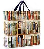 Book Bag Shopper Tote Bag 16 x 15in