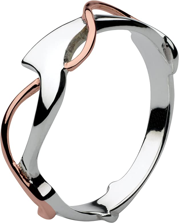 Dew Sterling Silver Art Nouveau Ring