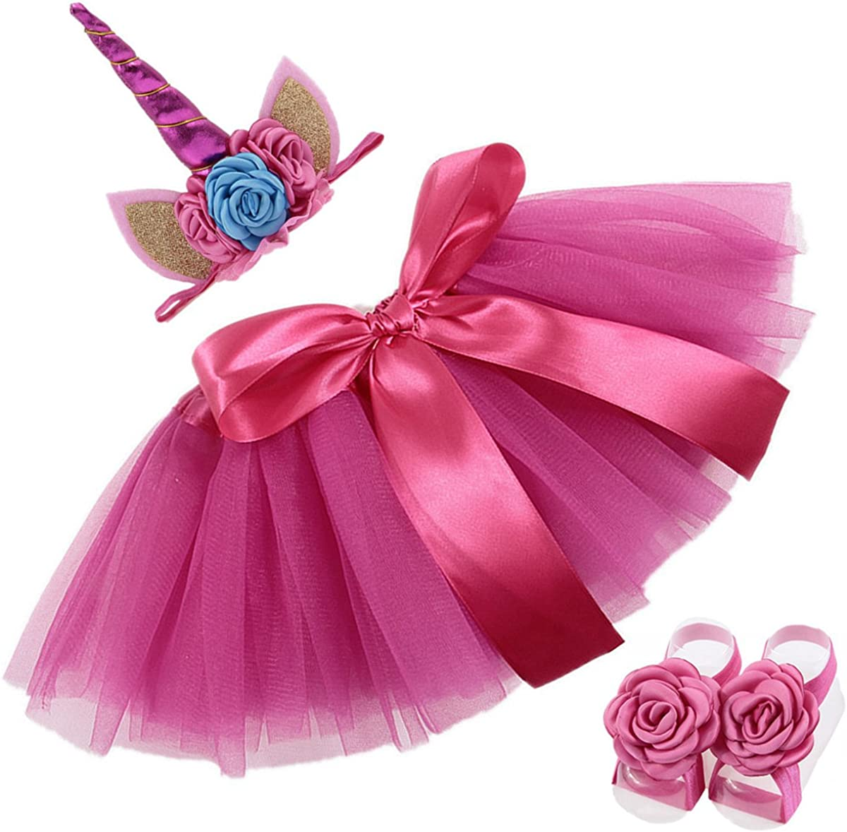 COUXILY Falda del tutú para Niñas Pequeñas Fotos de Disfraces de ...