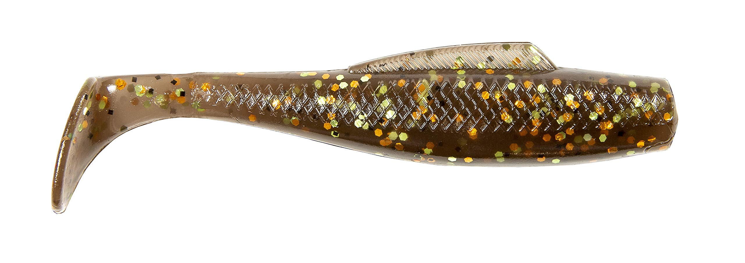 """75 pack Paddle Tail Swim Bait PEARL 3/"""" Paddle Tail Shad USA"""
