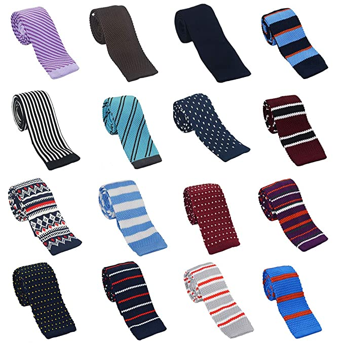 RIsxffp Moda para hombre corbata multicolor corbata corbata rayas ...