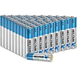 NECTIUM Superior Performance AA Alkaline Pure-Gold-Bottom IoT Batteries (48 Count), Ultra Power, Long Lasting for IoT Devices