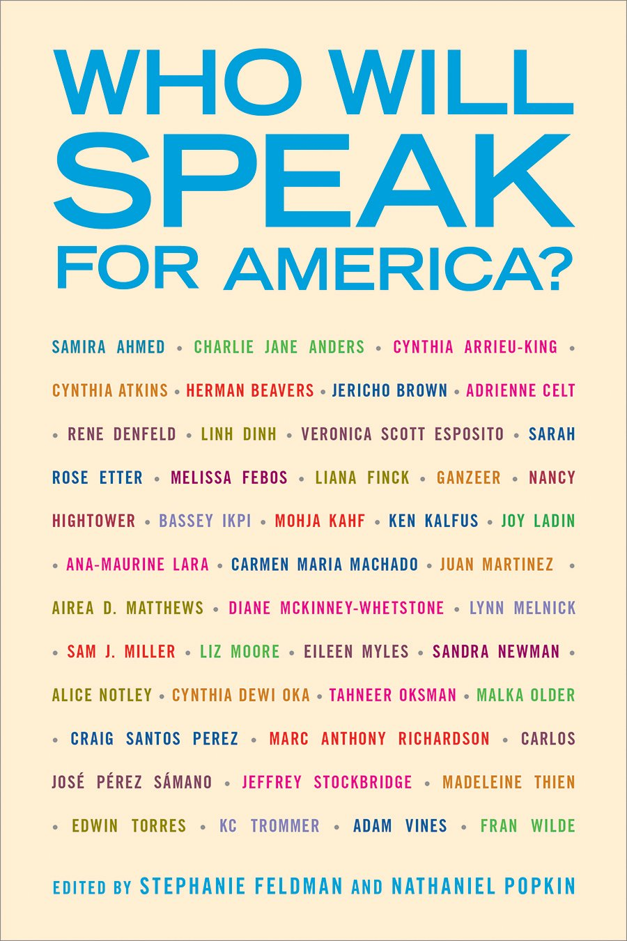 Who Will Speak for America? PDF