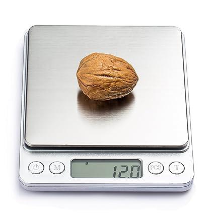 COSYLAND Báscula Digital para Cocina de Alta Precisión 3000g-0.1g Balanza Electrónica de Cocina