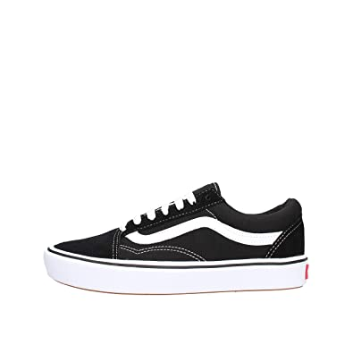 SkoolclassicShoes Comfycush Old co Vans Unisex BlackAmazon uk mNn0wyvO8