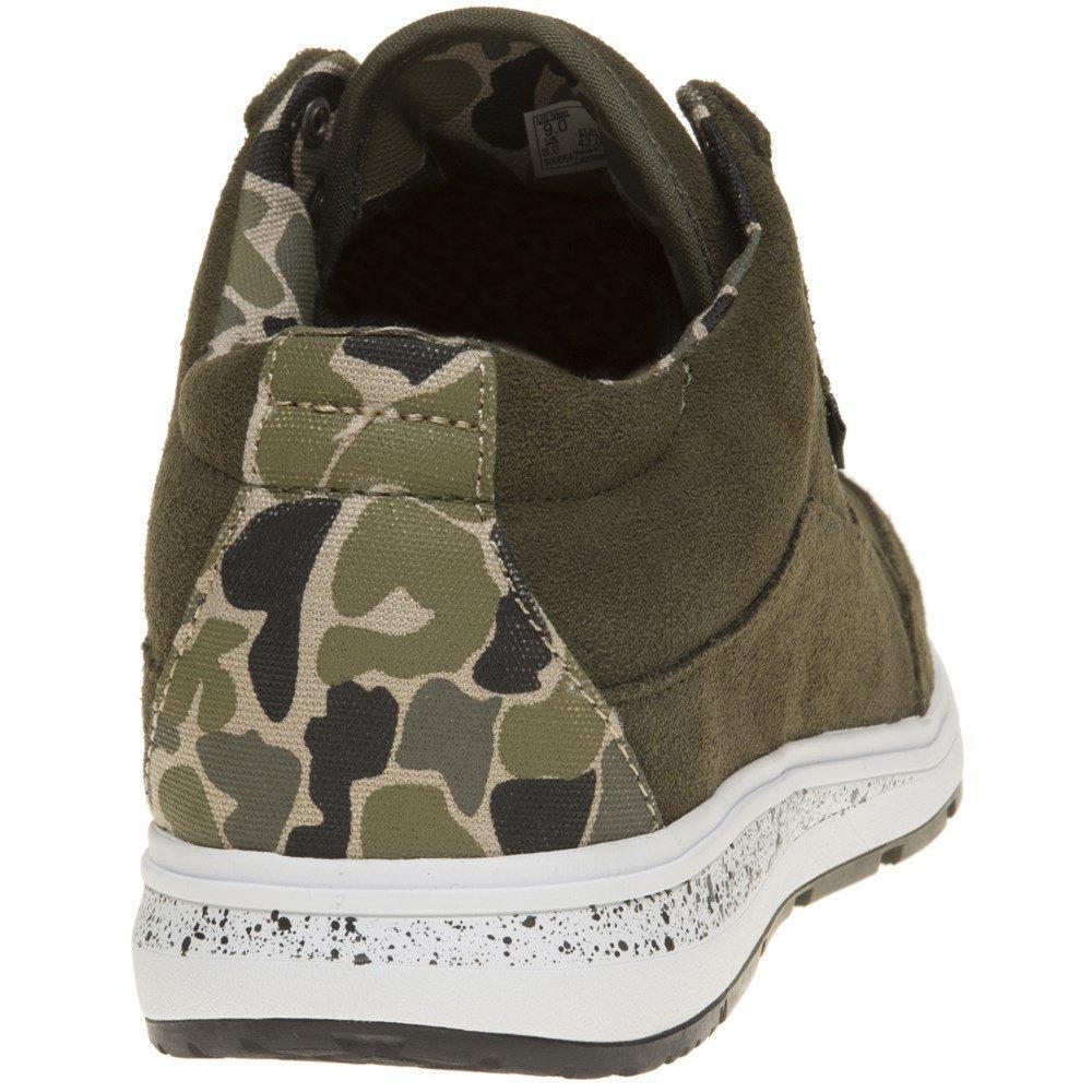 6b9da8f6f2 Vans Style 201 Camo Trainers Green 12 UK  Amazon.co.uk  Shoes   Bags