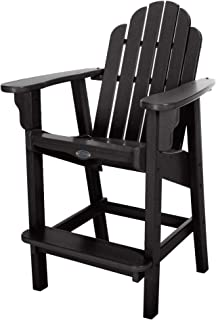 product image for Nags Head Hammocks Classic Counter Height Chair, Black