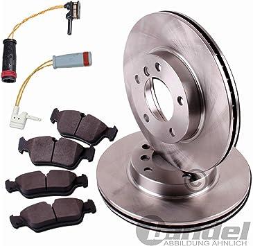 Bremsscheiben Ø 295 Mm Bremsen Bremsbeläge Sensor Für Vorne Auto