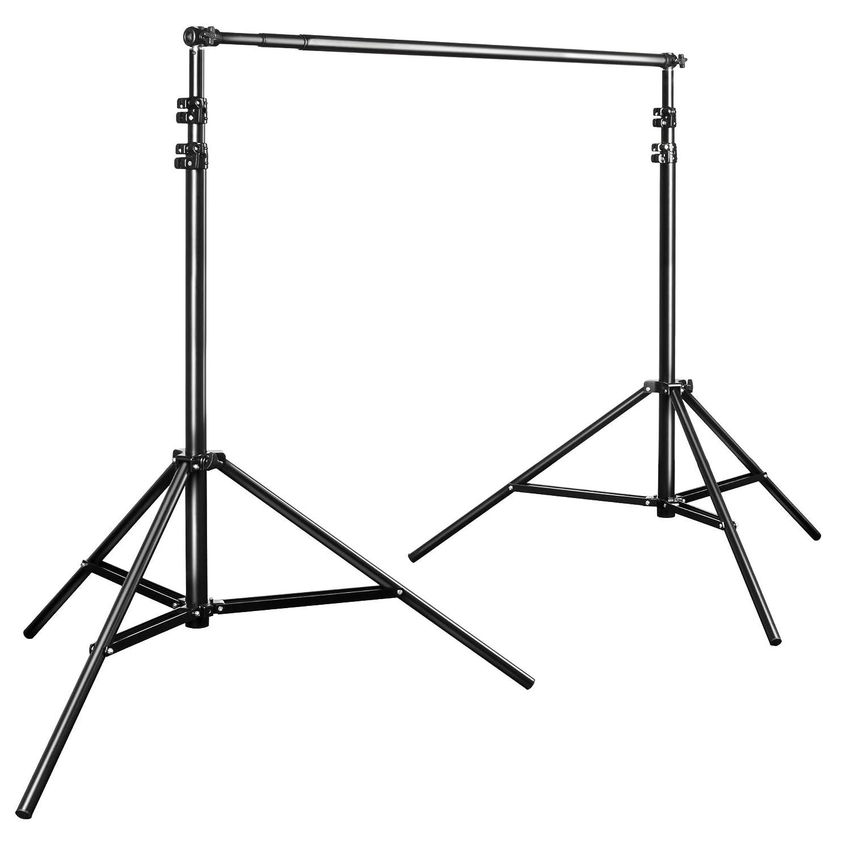Soporte telesc/ópico para Fondo fotogr/áfico 225-400 cm Walimex Pro Teleskop Color Negro