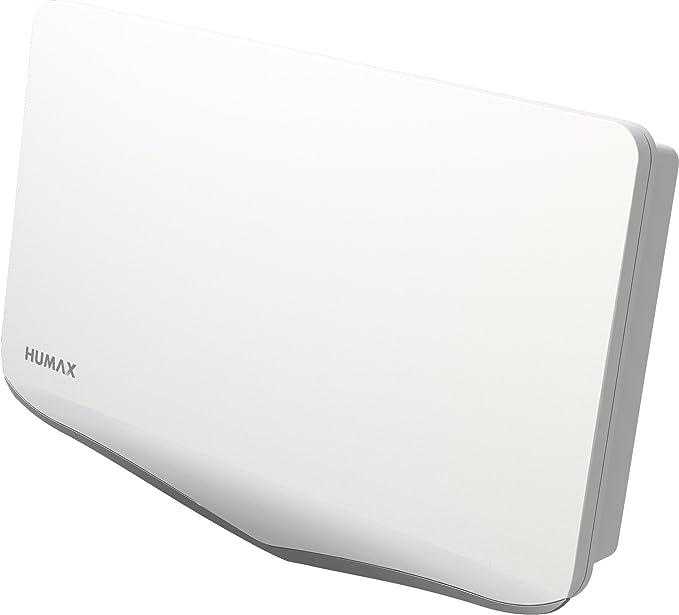 Humax digital h40d4/Flat Espejo Plano de Antena de sat/élite para 4/x participantes Color Blanco