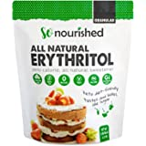 So Nourished Erythritol Sweetener Granular (2.27 kg / 5 lb) - No Calorie Sweetener, Non-GMO, Natural Sugar Substitute (2.24 Kilograms)