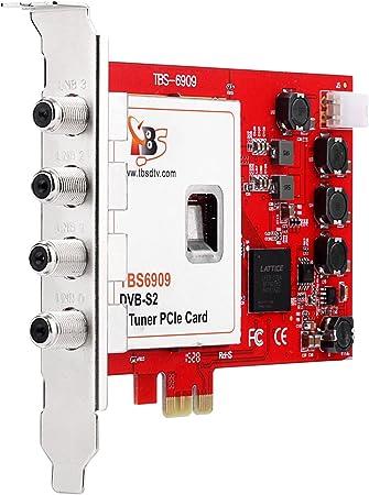 TBS DVB-S/S2 8 sintonizador PCI Express Tarjeta para satélite ...