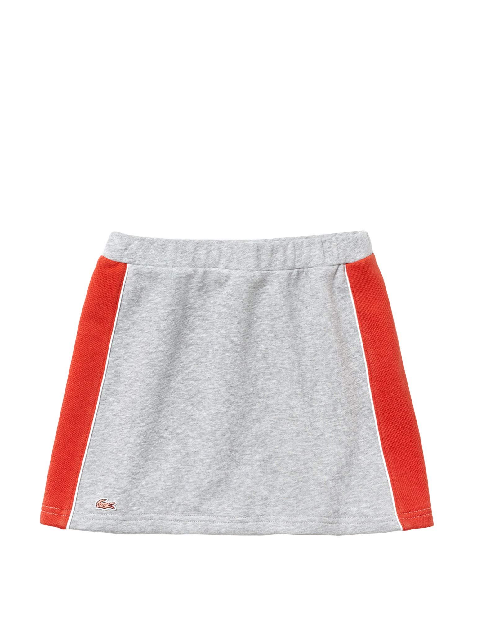 Lacoste Girls Kids' Fleece Skirt Grey in Size 8 Years (128 cm)